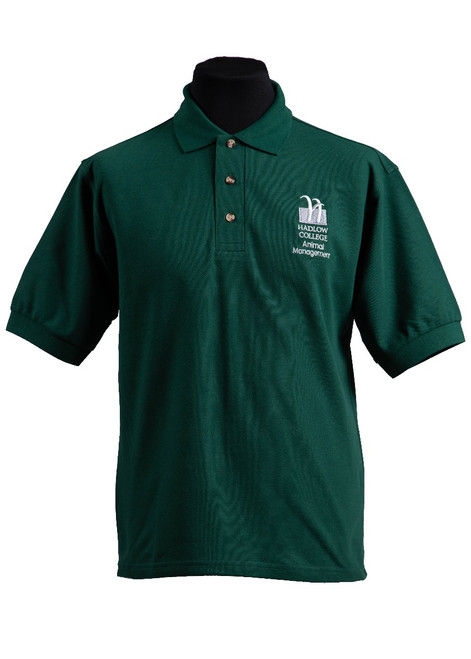 Hadlow College Animal Management polo shirt (37545)