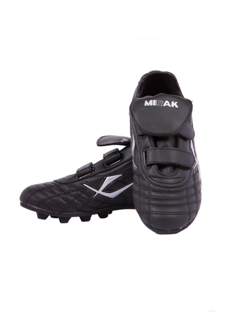 Velcro football boots with moulded sole (41069)