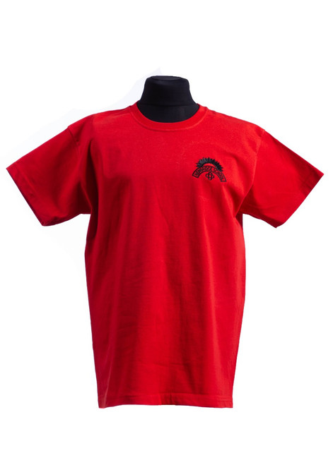 Newbridge Junior School red t-shirt (42163)