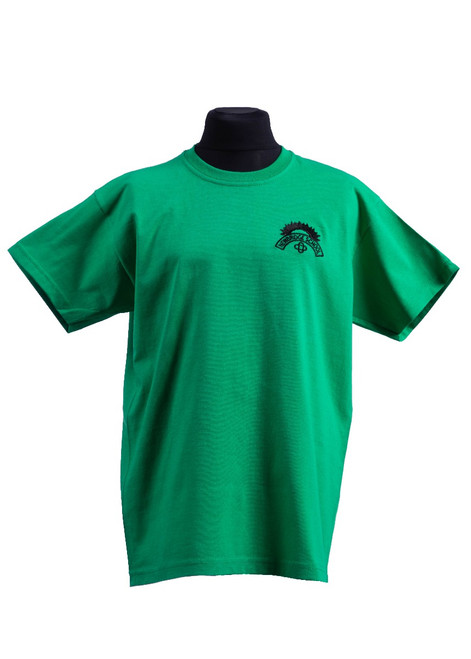 Newbridge Junior School green t-shirt (42165)