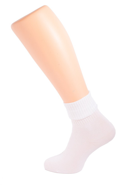 White TOT ankle socks (67141)