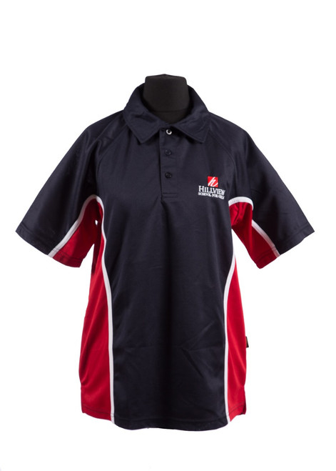 Hillview PE polo shirt - not fitted (70991)