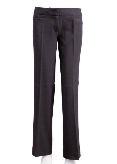 Black academy girls trousers (77215)