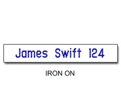 NAME TAPES IRON ON STYLE 2 (31932)