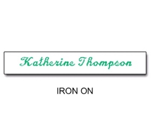 NAME TAPES IRON ON STYLE 4 (31934)