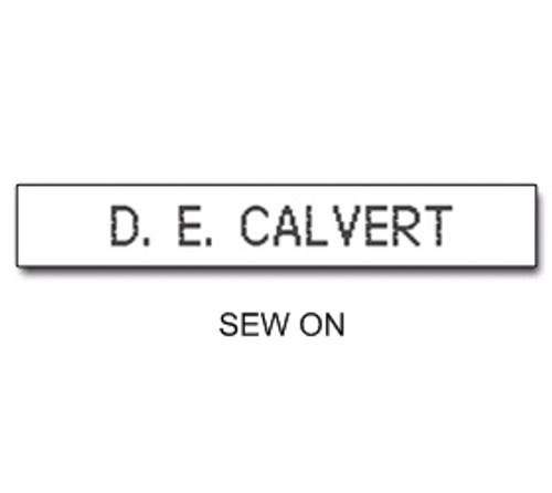 NAME TAPES SEW ON STYLE 5 (31925)