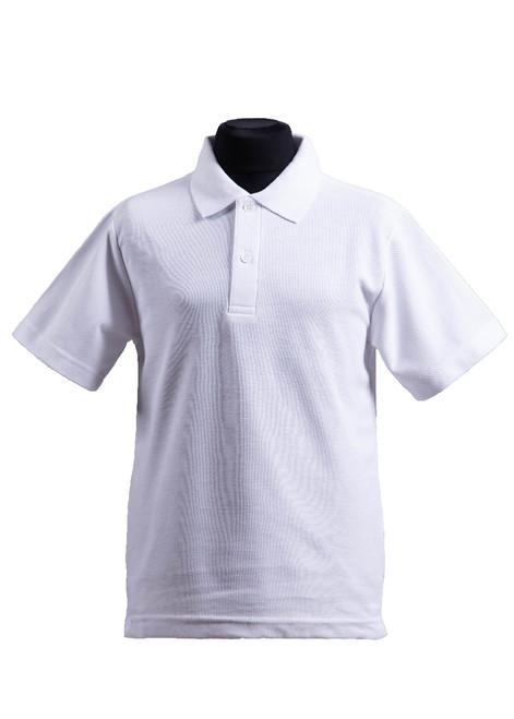 Beechwood Prep white polo shirt (37177)