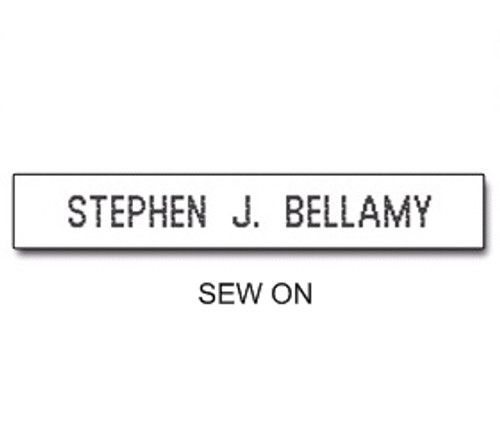 NAME TAPES SEW ON STYLE 1 (31921)
