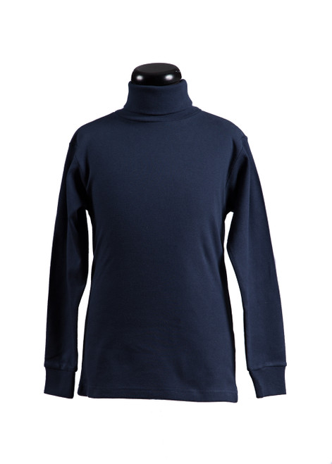 Dulwich navy rollneck (68501)