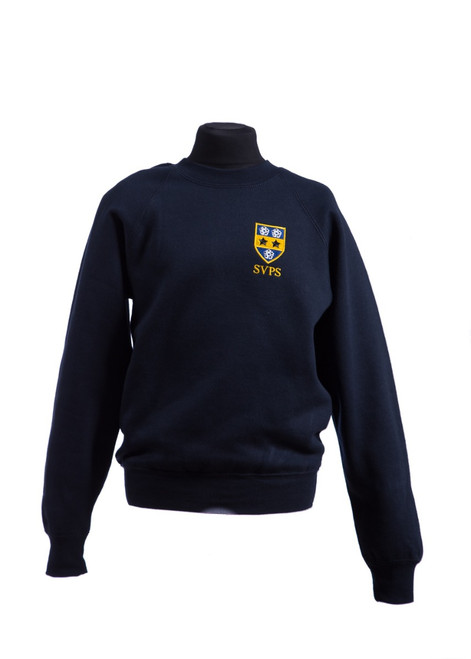 SVPS boys navy sweatshirt - Nursery - Year 2 (42599)