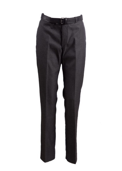 Mid-grey slim fit straight leg trouser (47243)