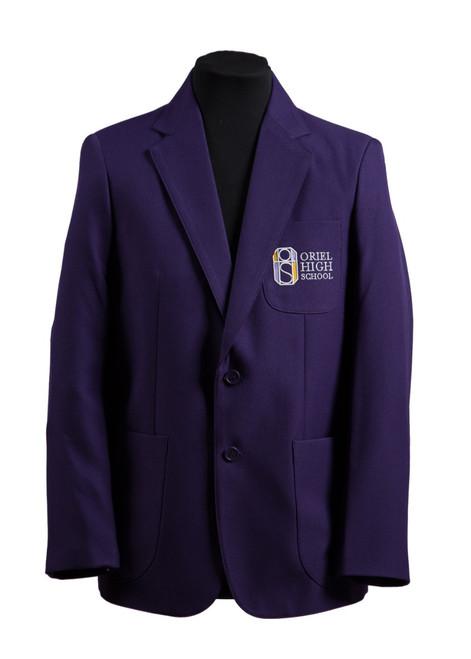 Oriel HS boys blazer - Poly/viscose blend (33262)