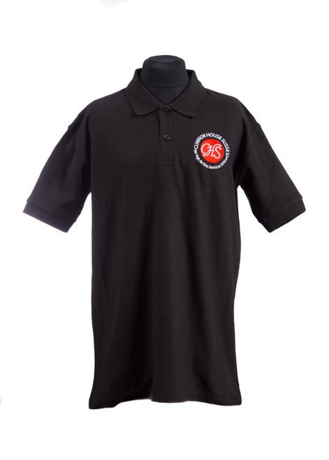 Cumnor House black polo shirt (37249)