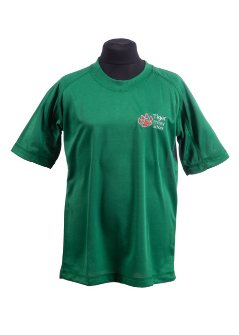 Tiger Primary Emerald PE t-shirt (42194)