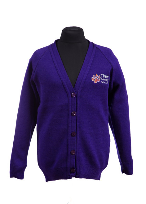 Tiger Primary School cardigan (68916)