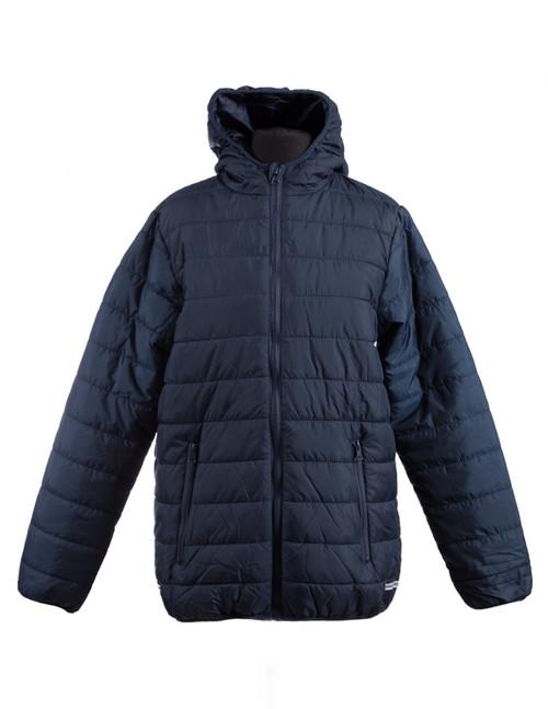 Navy padded jacket (34996)