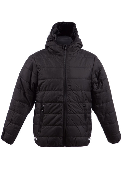 Black padded jacket (34995)