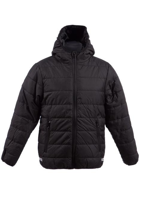 Black padded jacket (34995)