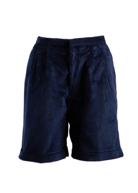 Beechwood Prep navy cord shorts (38027) - For boys Reception - yr 6 - Autumn/Winter terms