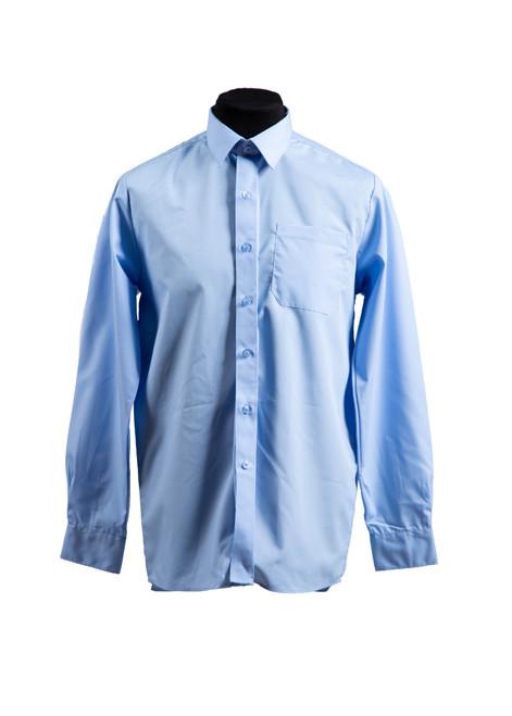 The Mead School blue L/S shirt - twin pk  (37027)