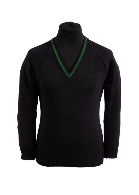 Uplands Community College v-neck jumper (36995)