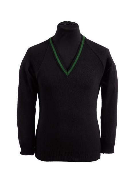 Uplands Community College v-neck jumper (36995)
