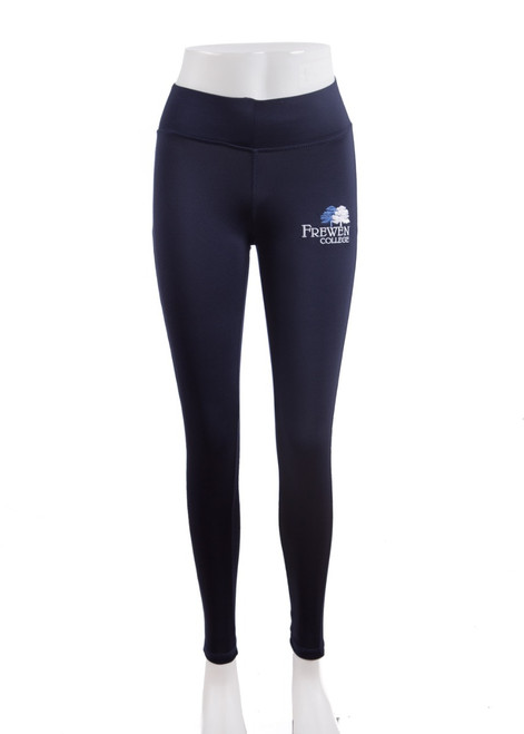 Frewen College girls sport leggings (73273)