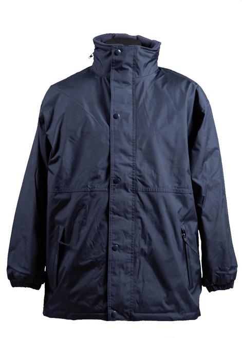 Vinehall navy reversible showerproof coat (34133)