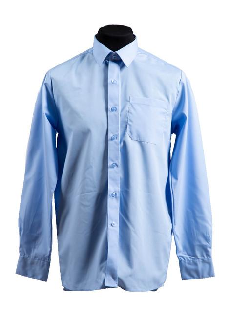 SVPS blue L/S shirt - twin pk (37027) - yr 1 - 6