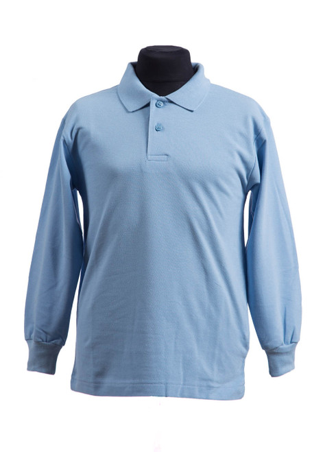 Long sleeved peacock polo shirt  (70085)