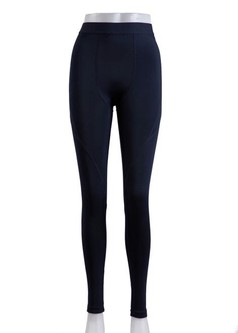 Navy baselayer leggings  (43039)
