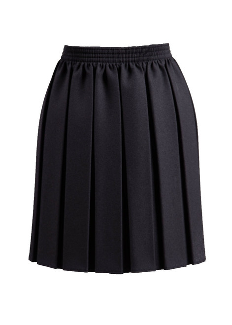 Black pleated skirt (69130)