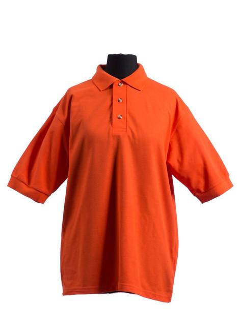SST orange house polo shirt (70027)