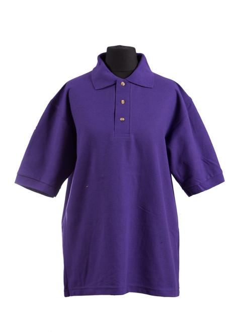SST purple house polo shirt (70028)
