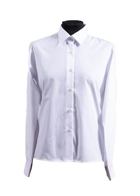 Beechwood Senior long sleeved blouse - twin pk (63084) - yr 7 & 8