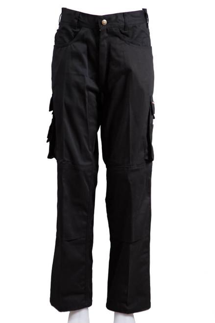 Black cargo trouser  (47203)