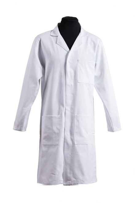 Invicta petite fit white lab coat (31018)