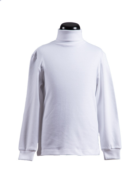Pre-Prep white rollneck (68541) - Optional