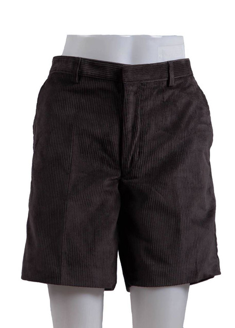 Somerhill grey cord shorts  (38032)