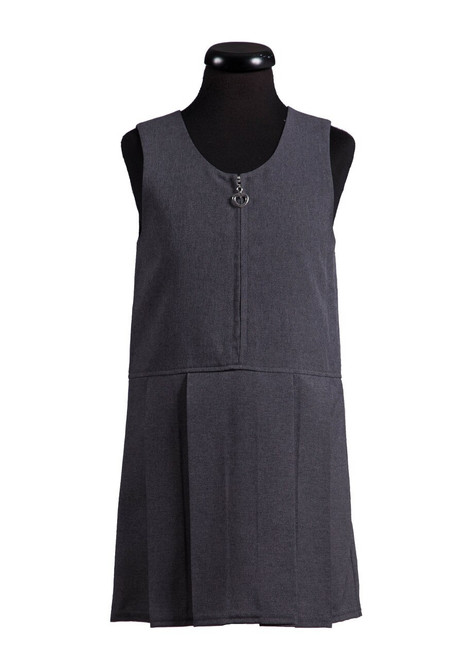 Skinners Kent Primary School grey tunic with charm front zip (69036)