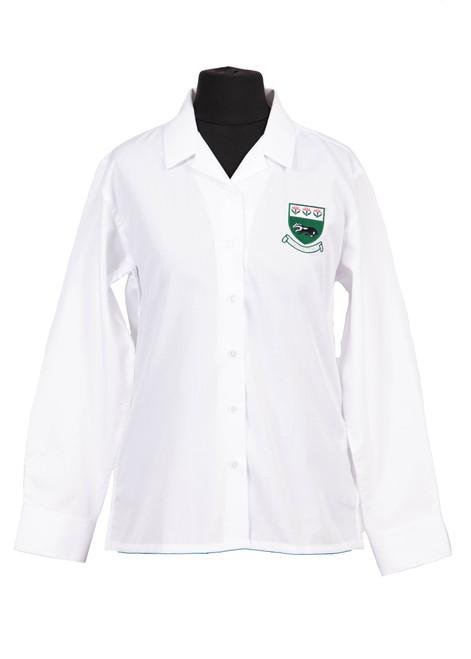 Bennett badged long sleeved blouse (63496)