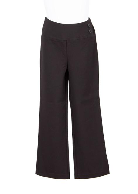 Black Jnr girls trousers (79060)