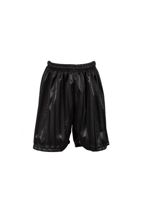 Black shadow striped PE shorts (79101)