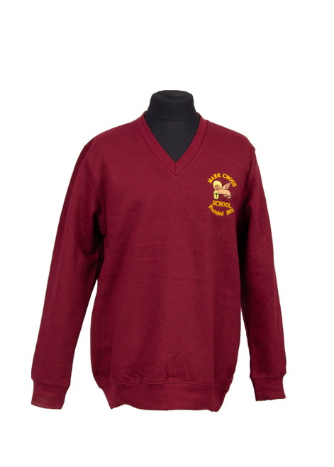 Mark Cross Primary v-neck sweatshirt (42830)