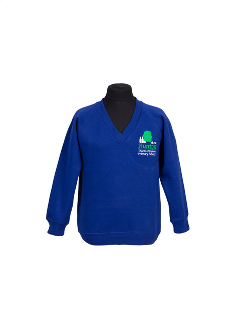 Hunton Primary v-neck sweatshirt (42799)