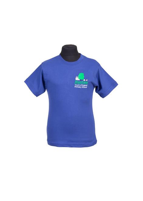 Hunton Primary blue house t-shirt (42516)