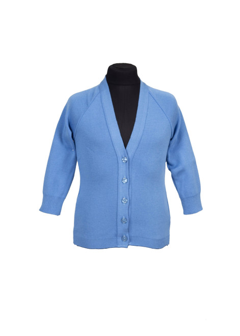 Sky blue cardigan (68904)