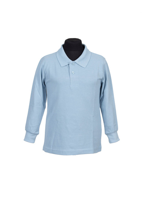 Lingfield College Prep long sleeved polo (37949)