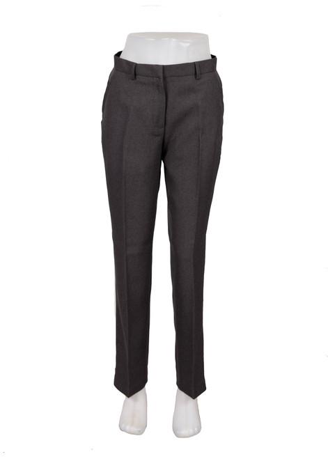 Grey classic cut girls trouser (77999)