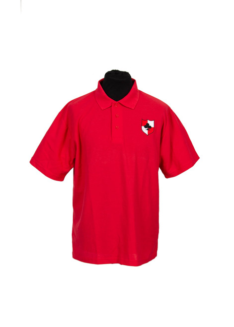 Lingfield College red house polo (37075)